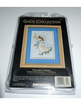 Counted Cross Stitch   Dimensions   Twilight Angel With Charms, Sequins & Beads by Ebay Seller