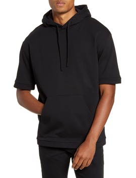 Dry North Cotton Short Sleeve Hoodie by Hugo