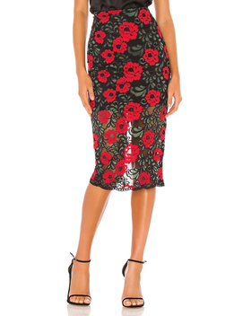 Camila Midi Skirt by Lovers + Friends