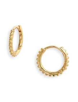 Bali Huggie Hoop Earrings by Gorjana