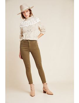 Sanctuary Moto Ultra High Rise Skinny Ankle Jeans by Sanctuary