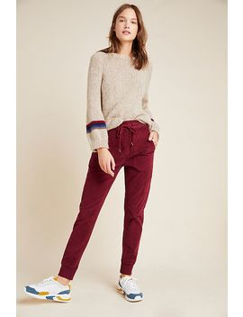 Leigh Corduroy Joggers by Anthropologie