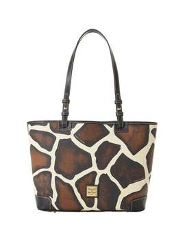 Dooney & Bourke Serengeti Small Leisure Shopper Tote (Introduced By Dooney & Bourke In ) by Dooney & Bourke