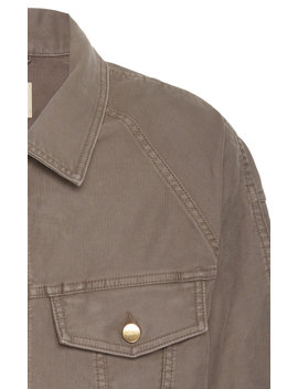Cotton Corduroy Trucker Jacket by Fear Of God
