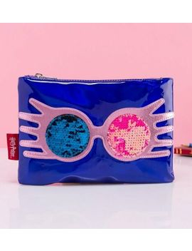 Official Harry Potter Luna Lovegood As Sane As I Am Sequin Pouch by Truffle Shuffle