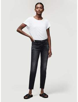 Le Garcon Crop Raw Edge by Le Garcon Crop Raw Edge