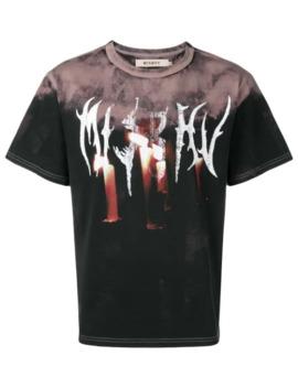Tie Die Print T Shirt by Misbhv