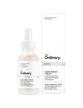 The Ordinary Lactic Acid 5% + Ha 2% Superficial Peeling Formulation 30ml by The Ordinary