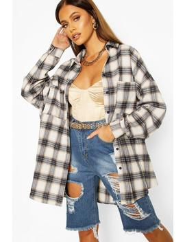 Extreme Oversized Shirt With Pockets by Boohoo