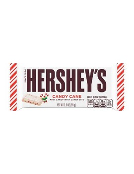 Hershey's Holiday Candy Cane Bar   3.5oz by Hershey's