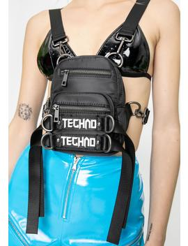 Techno Time Utility Backpack by Club Exx