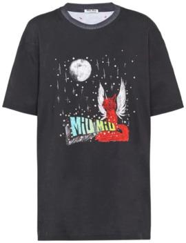 X Eri Wakiyama Fantasy Print T Shirt by Miu Miu