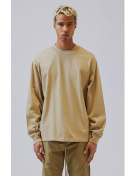 Fog   Fear Of God Essentials Long Sleeve T Shirt by Pacsun