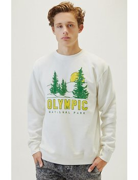 Olympic National Park Crew Neck Sweatshirt by Pacsun