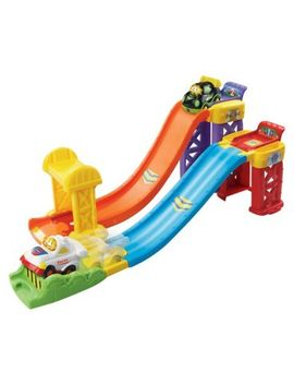 V Tech Toot Toot Drivers Racing Rampway by Vtech
