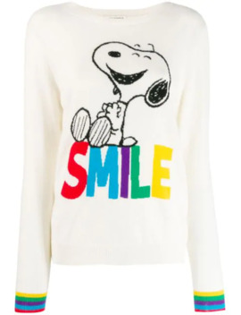 Smile Print Jumper by Chinti & Parker
