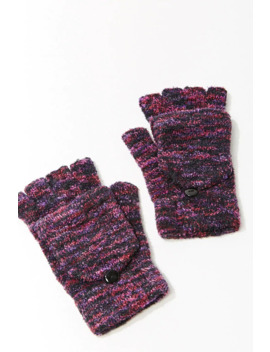 Chenille Striped Gloves by Forever 21