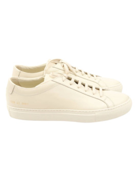 Original Achilles Low Warm White by Common Projects  ×