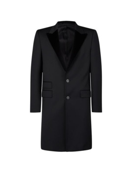 Velvet Lapels Coat by Neil Barrett