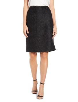 Tweed Pencil Skirt by Anne Klein