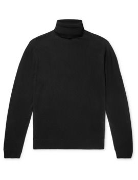 Virgin Wool Rollneck Sweater by Prada