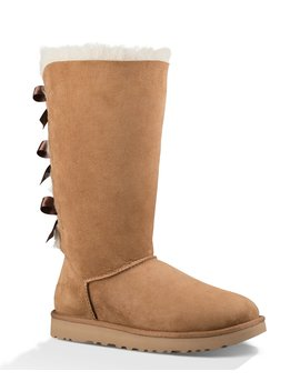 Ugg® Bailey Bow Tall Ii Suede Water Resistant Boots by Ugg