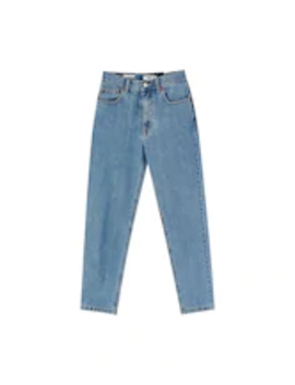 Mom Fit   Jeansy Slim Fit by Pull&Bear