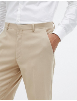 Asos Design Skinny Suit Trousers In Camel by Asos Design
