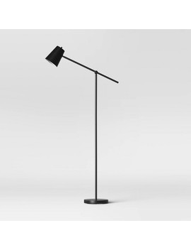 Cantilever Floor Lamp Black (Includes Energy Efficient Light Bulb)   Project 62™ by Project 62