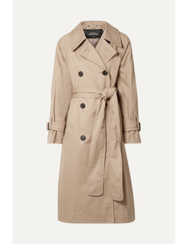 Oversized Cotton Twill Trench Coat by Runway Marc Jacobs