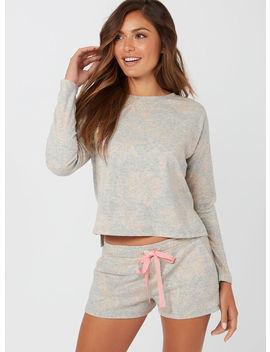 Rose Jacquard Boxy Sweater by Bouxavenue