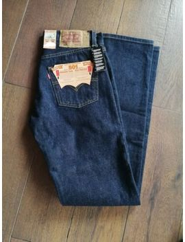 Original Levis 501 Herren W30 / L34 Dunkel Blau One Wash Neu! by Ebay Seller