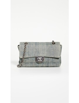 Chanel Blue Denim Bag by What Goes Around Comes Around