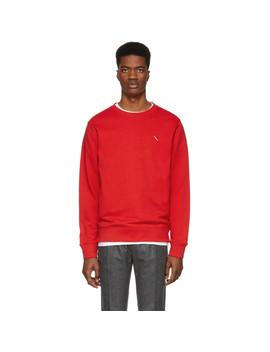 Red Slash Bowery Sweatshirt by Saturdays Nyc