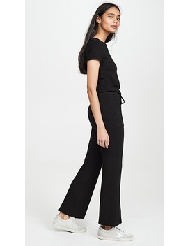 Supersoft Tee Jumpsuit by Monrow