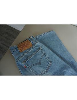 Levi's Levis 501 Herren Men Jeans Hose 30/34 W30 L34 Stonewashed Blau Top C18 by Ebay Seller