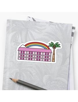 The Florida Project Magic Castle Sticker by Annikaras
