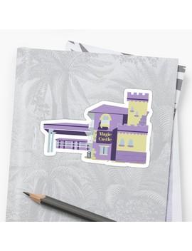 The Florida Project Magic Castle Inn & Suites Sticker by Zuleika Mari