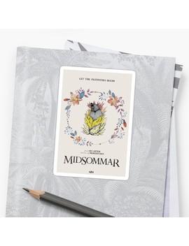 Midsommar   Floral Bear Sticker by Knguyen1297