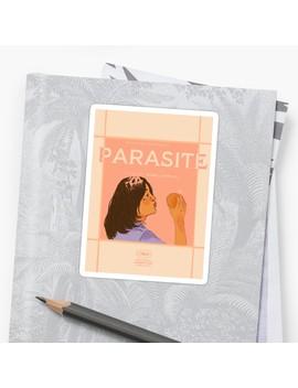 Parasite Poster   Bong Joon Ho Sticker by Kiaragiddings