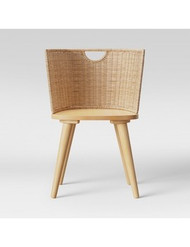 Wood And Woven Chair Natural   Project 62™ by Project 62