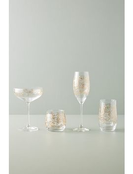 Fiorella Flutes, Set Of 4 by Anthropologie