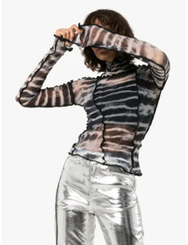 Hot Wok Tie Dye Panelled Top by Asai