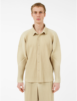 Pleated Shirt by Homme PlissÉ Issey Miyake
