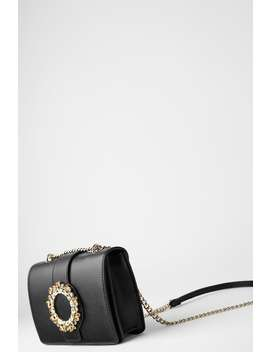 Mini Borsa A Tracolla Con Strass by Zara