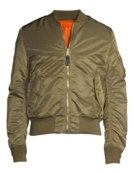 Nylon Flight Jacket by Alpha Industries