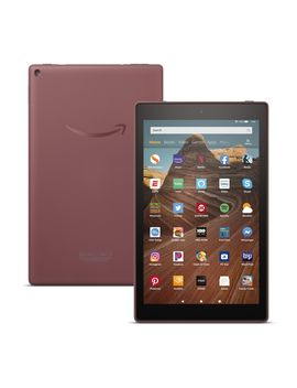 "All New Amazon Fire 10"" 32 Gb Wi Fi Tablet W/ Custom Case Voucher by Work To Play And Everything In Between, The Amazon Fire 10 Tablet Has The Ability To Keep You Busy For Hours    Ideal For Any Family Member!"