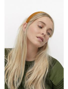 Valentina Velvet Headband by Urban Outfitters