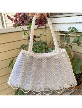 Repop Vintage Pearl Mini Bag!  This On Trend Beaded by Depop