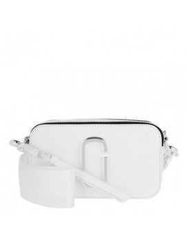 Snapshot Crossbody Bag White by Marc Jacobs